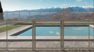 Barri res de piscine sebalec portails automatis s dans for Piscine en tole rectangulaire